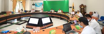 Video Conference : Rapat Koordinasi Penyelamatan Aset Serta Optimalisasi Pendapatan Daerah