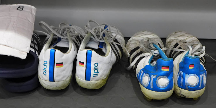 on sale 11f73 f7e2f Closer Look | Toni Kroos' Custom Worn-Out Adidas Adipure ...