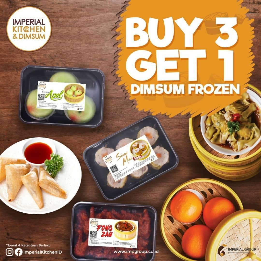 Imperial Kitchen Dimsum Promo Jakarta Kulinery