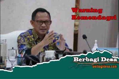 Surat Edaran Mendagri Nomor 141/4268/SJ tentang Pembinaan dan Pengawasan Penyelenggaraan Pemerintahan Desa