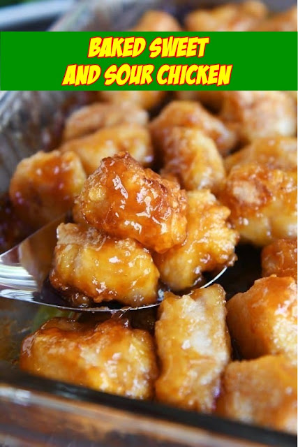 #Baked #Sweet #and #Sour #Chicken