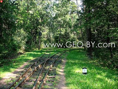 Минск. Детская железная дорога. Разворотное кольцо