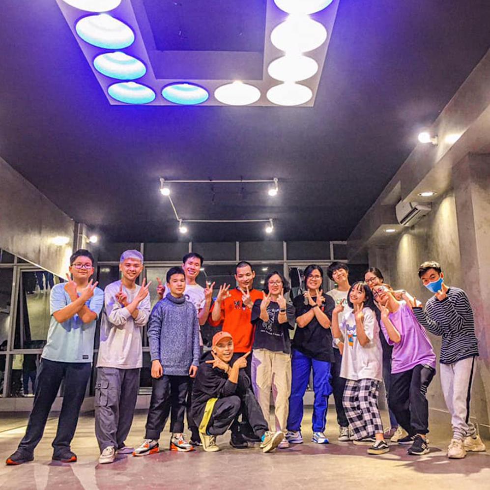 [A120] Phòng học nhảy HipHop tại Hà Nội chất lượng hàng đầu