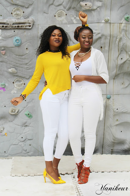 Yanikeur: HOW TO STYLE A WHITE COLOR (WITH GUEN)