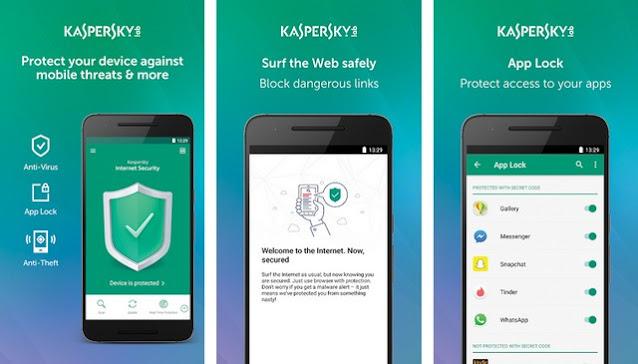 Kaspersky-Mobile-Antivirus - أفضل برنامج حماية للأندرويد
