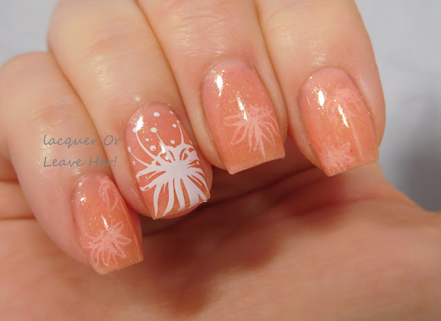 Spellbound Nails Late Bloomer + UberChic Beauty 6-03