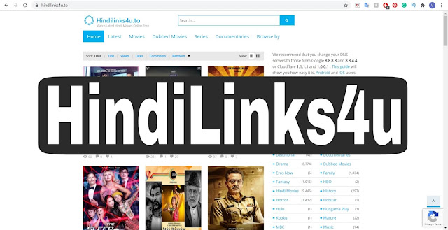 Hindilinks4u 2020: Download the latest Hindi movies Dubbed Movies, TV Shows, Awards, Documentaries and More.