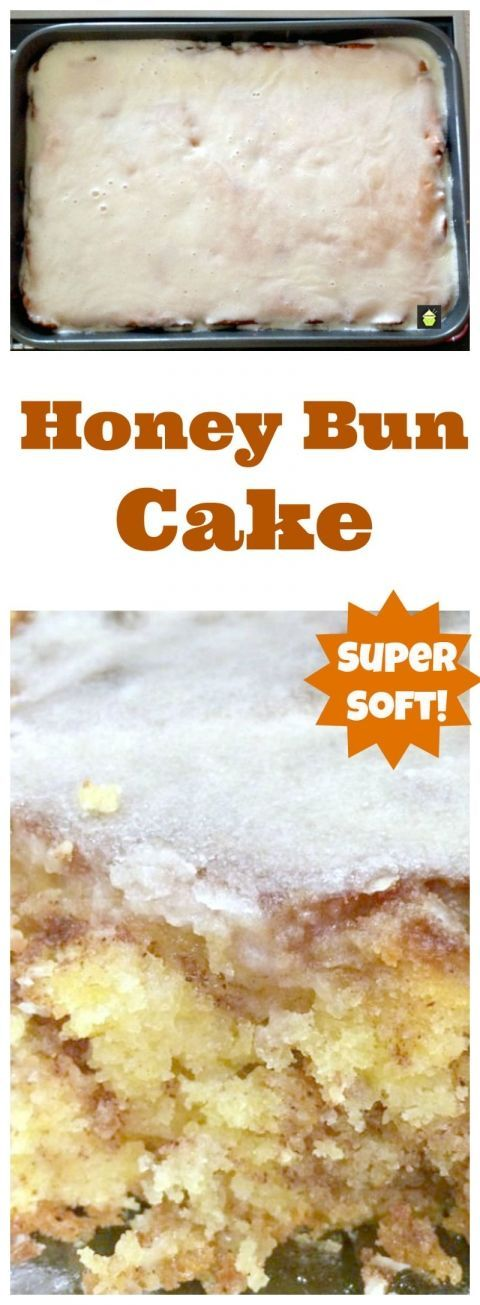 New Honey Bun Cake
