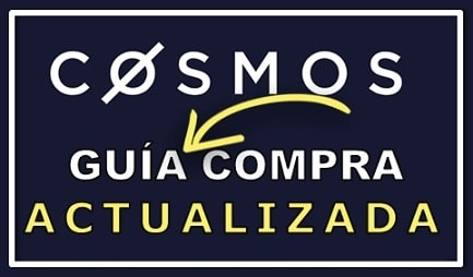 Comprar y Guardar en Wallet Cosmos (ATOM)