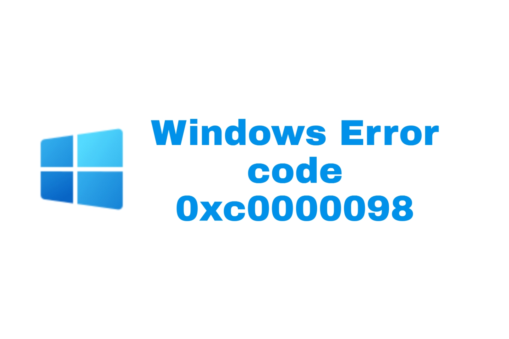 Windows 10 error code 0xc0000098