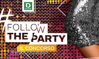 Logo Deichmann ''Follow the Party'': vinci gratis buoni sconto e 30 Party a Milano
