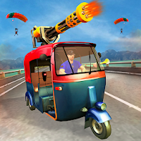 City Tuk Tuk Highway Shooting Apk free Download for Android