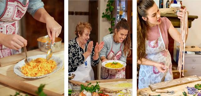 6- Pasta with the Grandmas