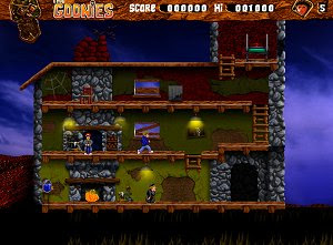 The Goonies free action platformer game