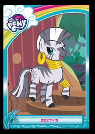 MLP Zecora Series 5 Trading Card
