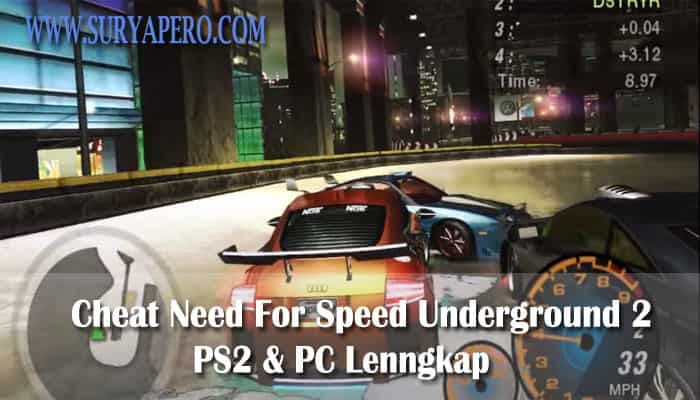 cheats for need for speed underground 2