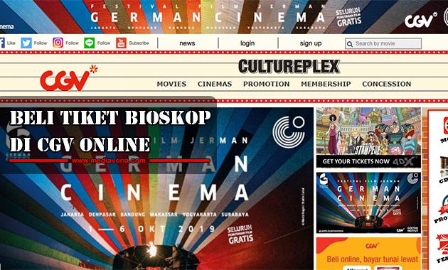 Beli Tiket Bioskop di CGV Online