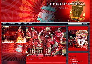 Liverpool Blogger Template