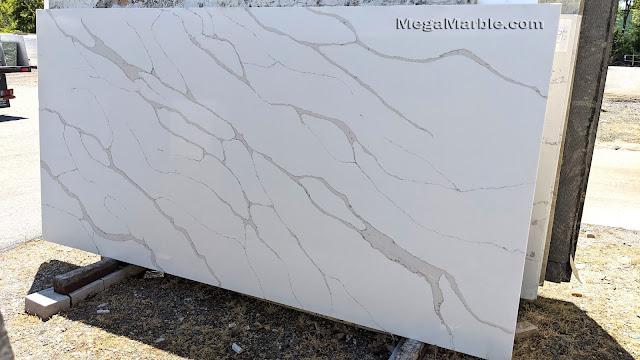 Calacatta Quartz Slabs For Countertops