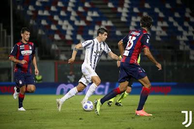 ملخص واهداف مباراة يوفنتوس وكروتوني (1-1) الدوري الايطالي