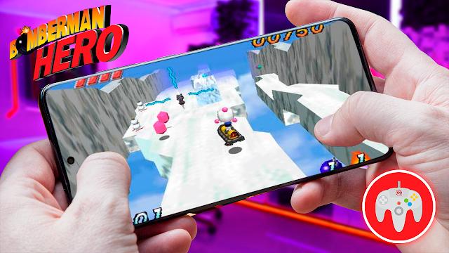 Bomberman Hero Para Teléfonos Android (ROM N64)