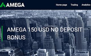 Bonus Forex Tanpa Deposit AMEGAFX $150