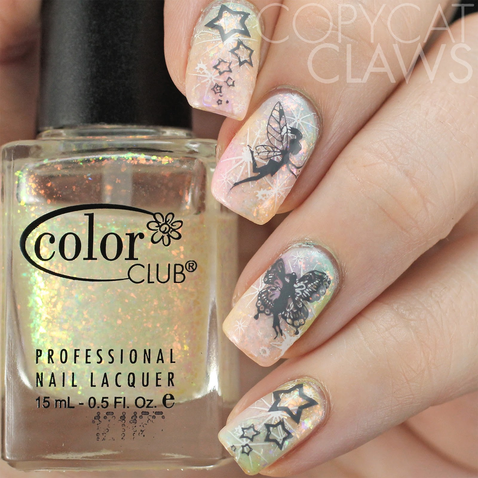 Copycat Claws The Digit Al Dozen Does Whimsy Fairy Nail Stamping