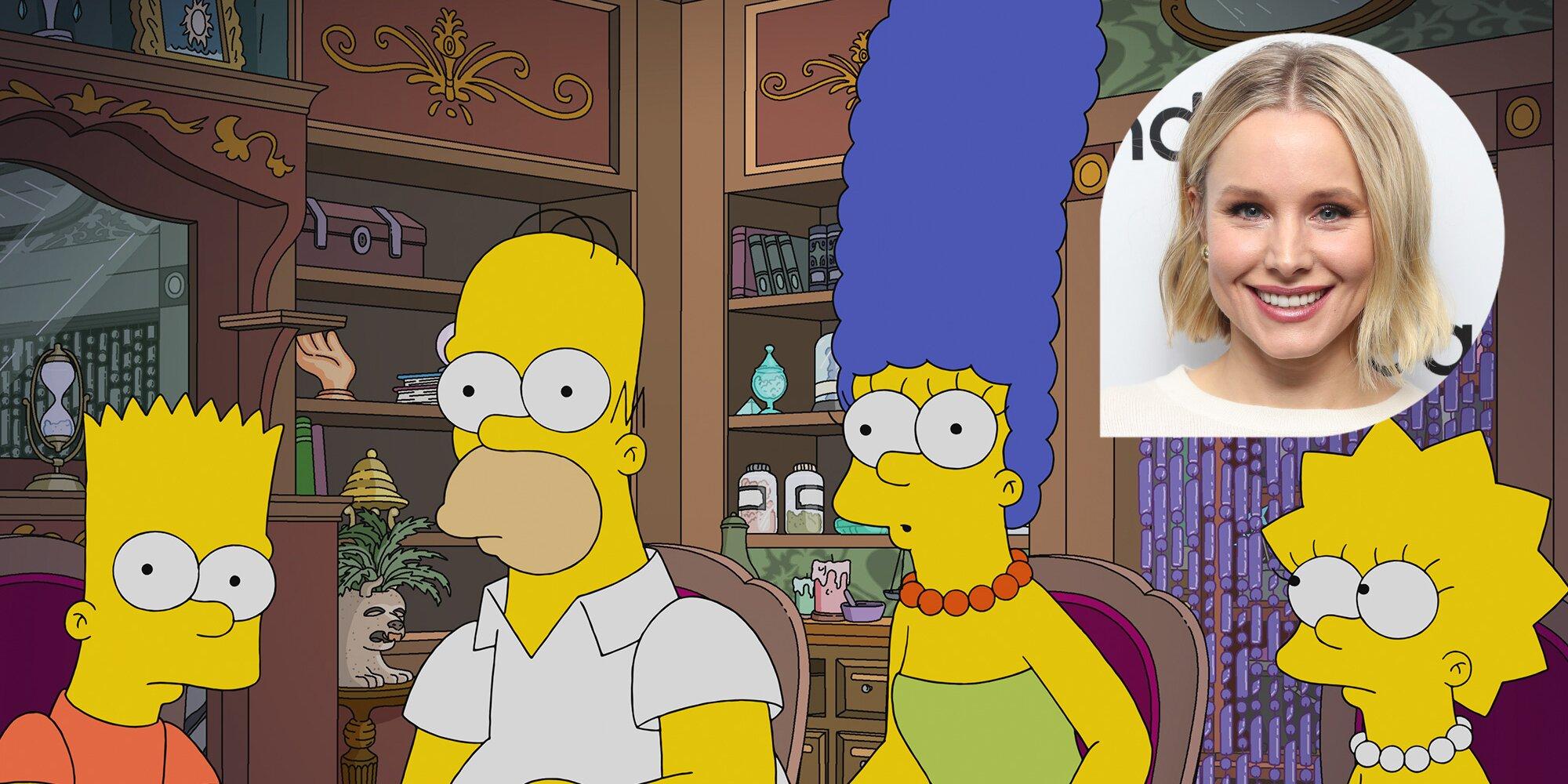'Los Simpson' comenzará la temporada 33 con musical de la mano de Kristen Bell
