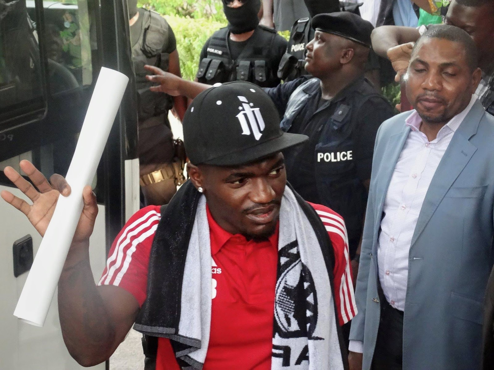 Thievy Bifouma en Brazzaville