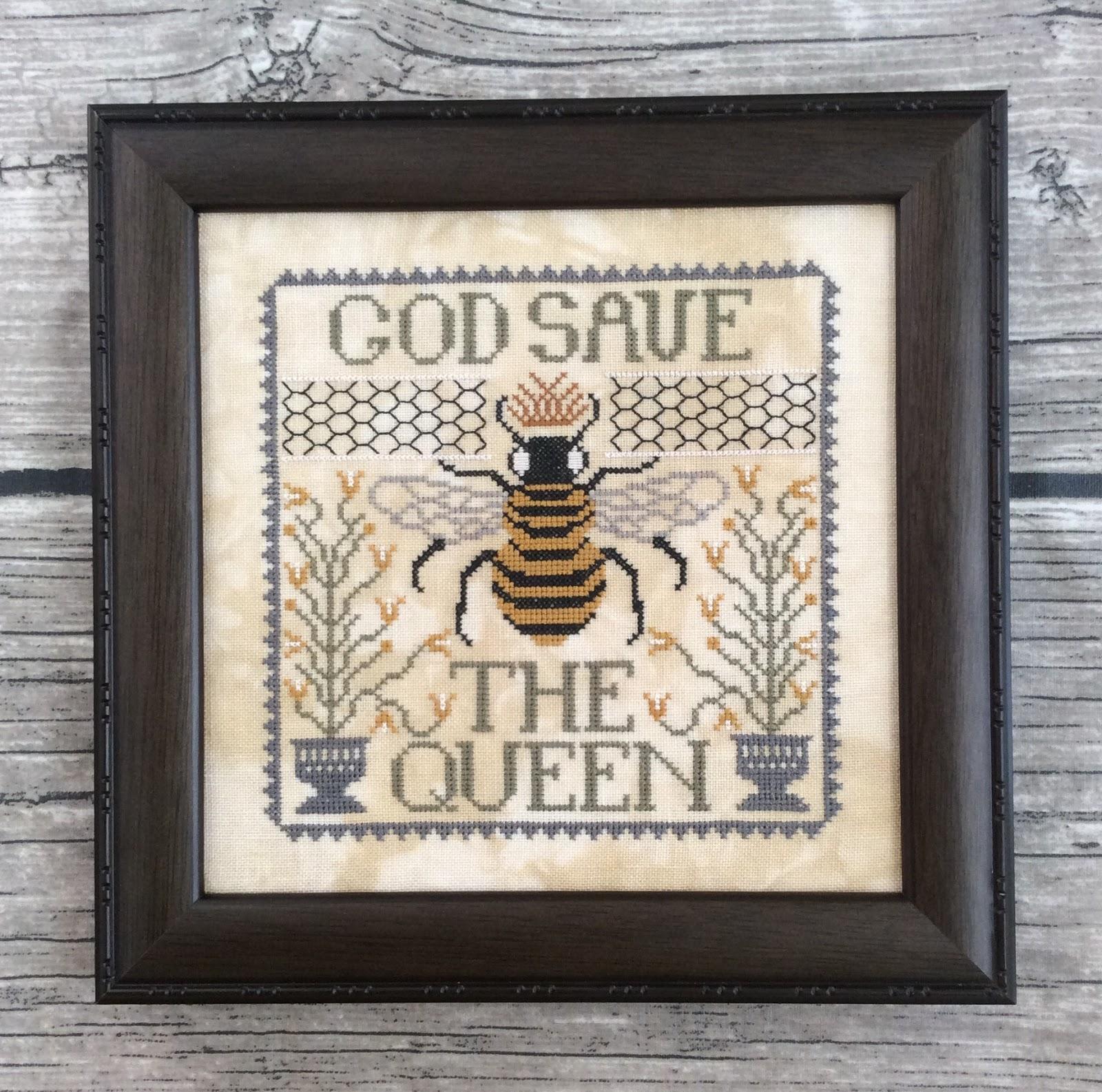 annie beez folk art god save the queen. Black Bedroom Furniture Sets. Home Design Ideas