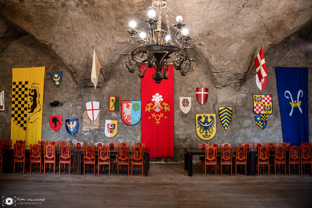 Zamek Grodziec Sala Rycerska