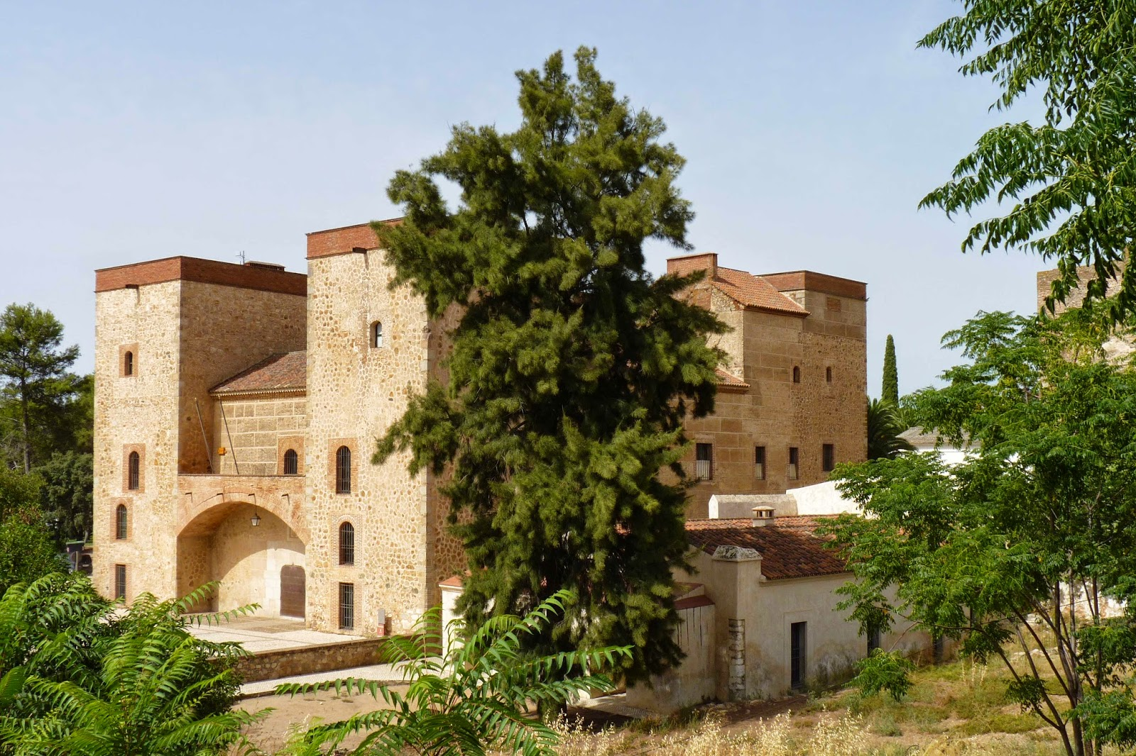 Alcazaba de Badajoz.