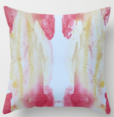 interior design fabric yellow gold coral pink domino hgtv house beautiful architectural digest houzz