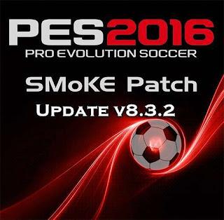 PES 2016 SMoKE Patch Update v8.3.2