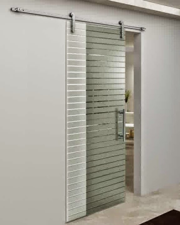 Pintu kamar mandi basah berbahan alumunium