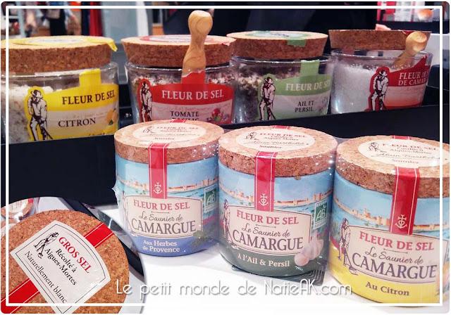 Fleur de sel et gros sel Le saunier de Camargue