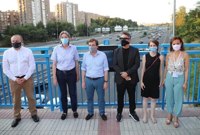 40.000 euros por tres canciones de Alejandro Sanz en un puente de la M-30