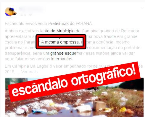 """Roncador: """"Derrapando no português"""" - Parte III"""