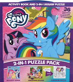 My Little Pony 2-in-1 Puzzle Pack Books