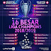 Hasil Lengkap Drawing Liga Champion 2019