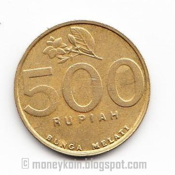 Benda Antik Langka Uang Logam Indonesia 500 rupiah