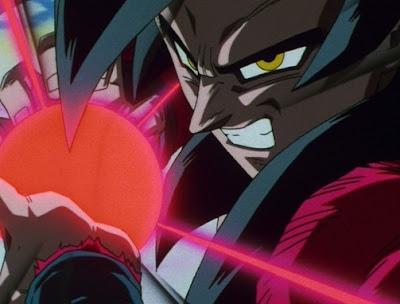 Imagens de Goku em SSJ4
