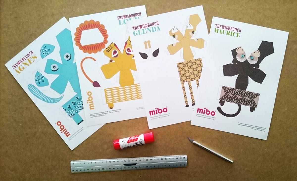 SONRISAS DE PAPEL: PAPER TOYS para imprimir - Animales de papel de ...
