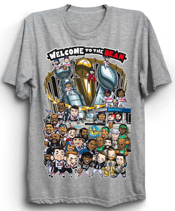 c773bd5bef58a Limited Edition: Welcome To The Bean t-shirts | CelticsLife.com ...