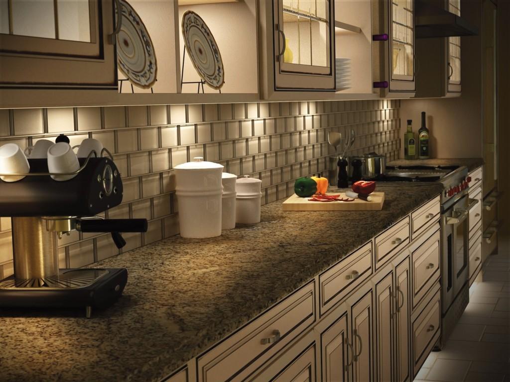 Kichler Kitchen Lighting Salvaged Cabinets Task Classic Elegance