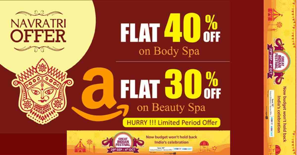 Navratri Great Indian Sale On Amazon