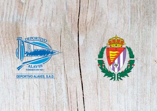Alaves vs Real Valladolid - Highlights 18 April 2019