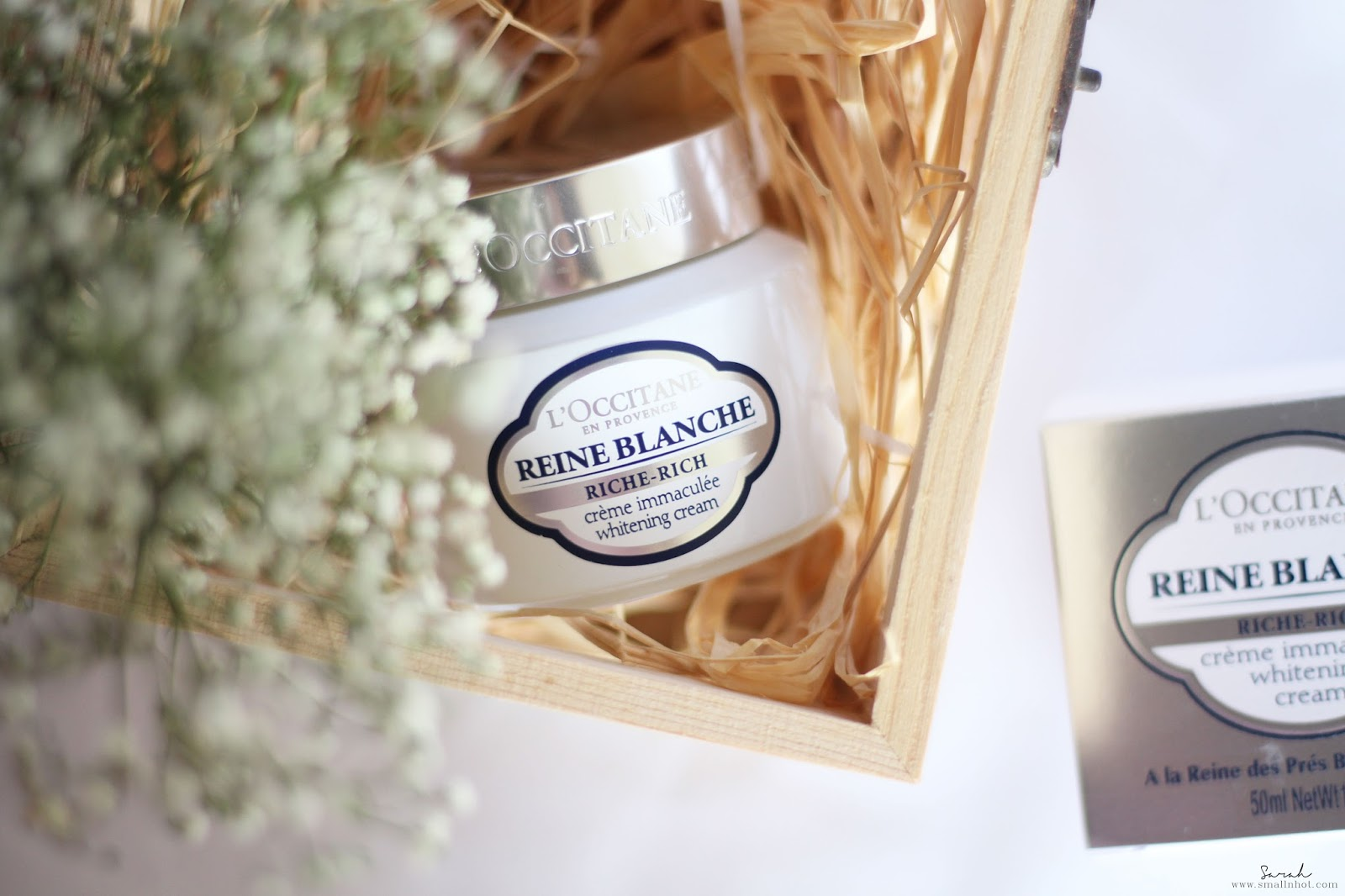 �ล�าร���หารู��า�สำหรั� L'Occitane Reine Blanche Rich Whitening Cream