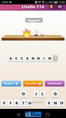 Emoji Quiz soluzione livello 116