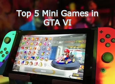 Mini Games in GTA VI